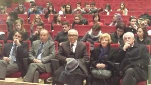 Arzachena 28-03-2015 Emergenza Lavoro - Relatori: Guido Cogotti e Roberto Muller con studenti e docenti
